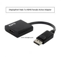 BAFO DISPLAYPORT TO HDMI F ACTIVE ADAPTER