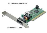 PCI 56K FAX MODEM internal Card