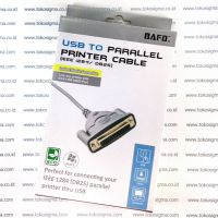 BAFO BF-850 USB TO PARALLEL PRINTER CABLE ieee 1284 DB25 F