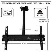 CEILING BRACKET VCT-2642 FOR LCD / LED TV 26 in - 42 in