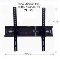 WALL BRACKET D2655 for FLAT TV 26in - 55in