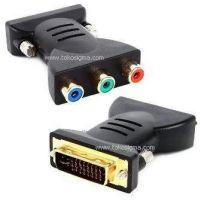 DVI 24+5 M TO Ypbpr 3 RCA ADAPTER