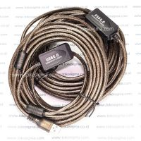 USB 2.0 EXTENSION CABLE 20 meter with BOOSTER