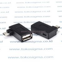 OTG MICRO USB with POWER PORT ADAPTER