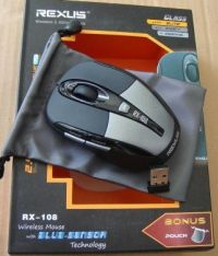 MOUSE REXUS WIRELESS rx 108