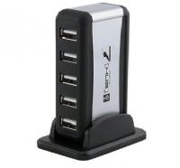 7 PORT USB HUB stand + Adaptor 5V 1A