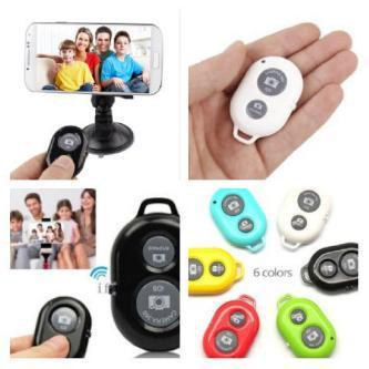 BLUETOOTH CAMERA REMOTE SHUTTER. TOMBOL NARSIS model bulat. TOMBOL NARSIS model bulat